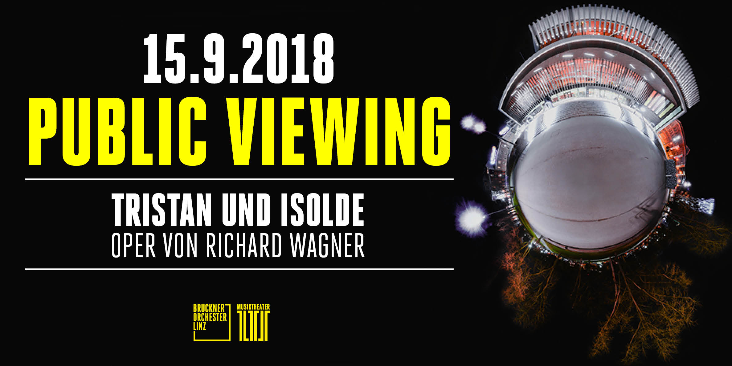 PUBLIC VIEWING: Tristan und Isolde